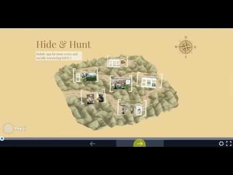 Treasure Hunt mobile app concept demo @ Persuasive Game Jam Salzburg University 2016