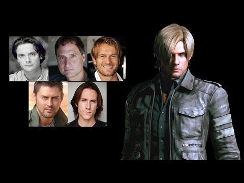 Comparing The Voices  Leon S. Kennedy