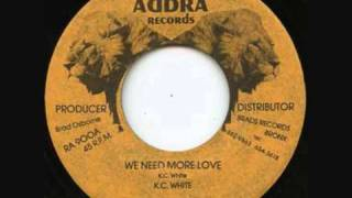 A KC White - We Need More Love