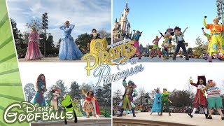 Pirates & Princesses Make Your Choice All 4 Stages at Central Plaza - Disneyland Paris 2019 ✨