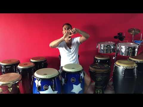 Conga/Tumba Dersi Part-1 (Vuruş Teknikleri/Cha Cha Cha)
