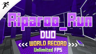Riparoo_Run (DUO) WORLD RECORD Speedrun - 3:22.9 left (Pyorosa & ZNOOB7)   Krunker.io