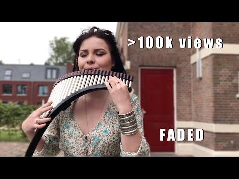 Alan Walker - Faded (Panflute Cover by Mariana Preda)