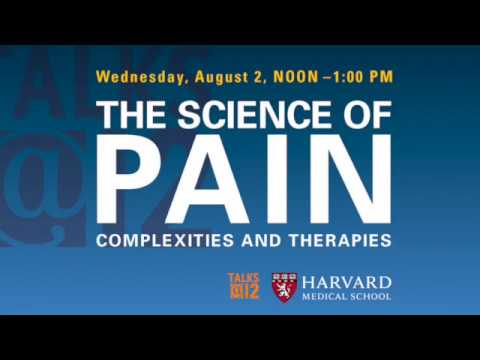 Talks@HMS: The Science of Pain: Complexities and Therapies