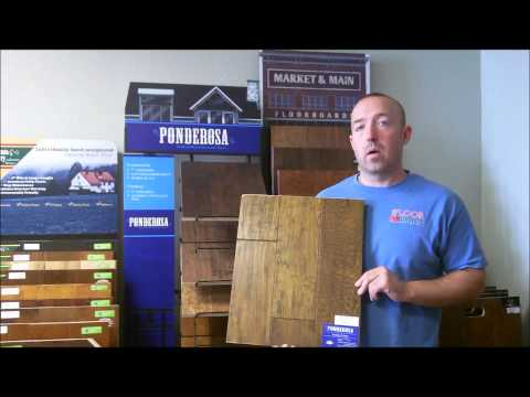 Master's Craft Ponderosa hardwood floors Review by The Floor Barn floor store Dallas, TX