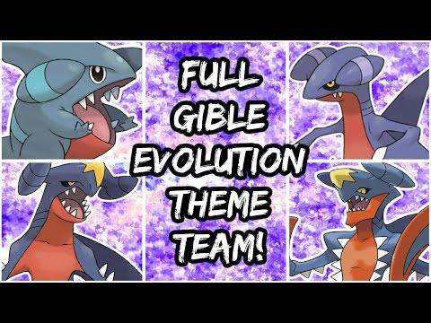 Pokemon Brick Bronze - FULL GIBLE EVOLUTION THEME TEAM!
