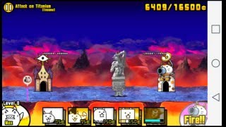 Video The Battle Cats Attack on Titanium [Insane] Easy Way download MP3, 3GP, MP4, WEBM, AVI, FLV Agustus 2018