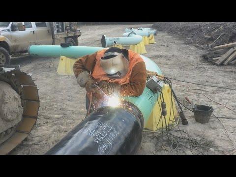 Welding - 16 Inch Hot Bend Weld