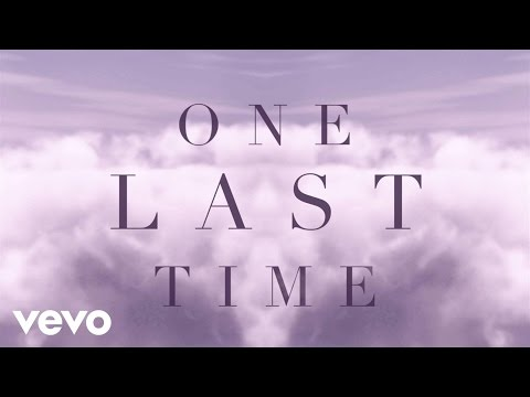 Thumbnail: Ariana Grande - One Last Time (Lyric Video)