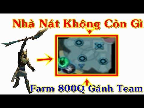 Nasus Top Nhà Bát Bét Bắt Buộc Farm 800Q Mới Gánh Team | Trâu Best Udyr