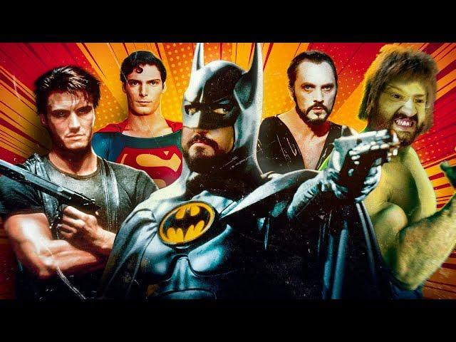 Super Heróis nos anos 80 e 90
