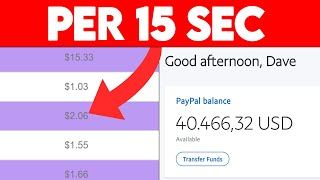 Automatic $0.63 Per 15 Seconds [UNLIMITED] Passive Income