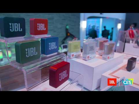 JBL at CES 2018: The all-new JBL Clip 3 and Go 2 Wireless Speakers