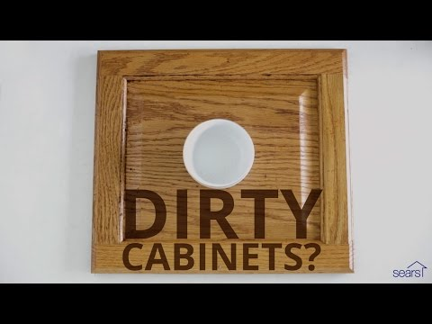 Sears Home Hacks How To Clean Wood Cabinets