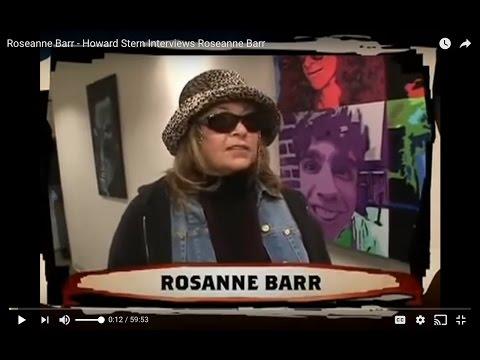 Roseanne Barr - Howard Stern Interviews Roseanne Barr