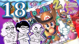 Mario Party 2, Ep. 18: The Legendary Double Swing - Press Buttons 'n Talk