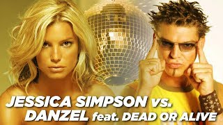 Download Two Spins Round The Record (Garbage Mix) - Jessica Simpson Vs. Danzel (feat. Dead or Alive) MP3 song and Music Video