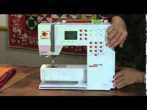 BERNINA Activa Machines YouTube Stunning Bernina Activa 130 Sewing Machine