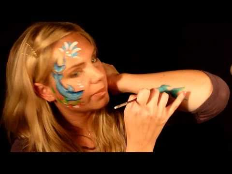 September Face Painting Tutorial Part 2