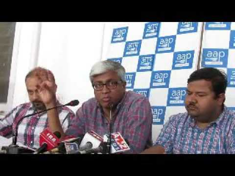 AAP Party Demands that Arun Jaitley Finance Minister of India Should come clean on his own on DDCA.