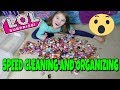 LOL Surprise Speed Cleaning | 2 Ways to Organize and Store My LOL Dolls