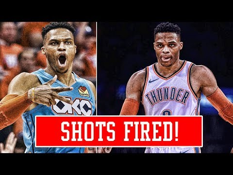 KLAY THOMPSON TALKING TRASH! RUSSELL WESTBROOK DANGEROUS FOR THE LEAGUE!