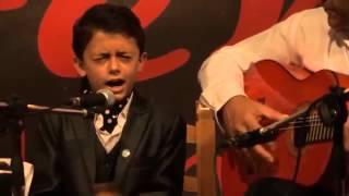 """Raul """"El Balilla"""" Bulerias de Camaron Participante de La voz Kids"""