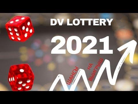 Шансы на выигрыш в DV Lottery 2021. Увеличь свои шансы на выигрыш Green Card на 40%