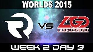 OG vs LGD - 2015 World Championship Week 2 Day 3 - Origen vs LGD Gaming
