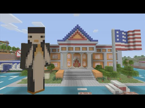 Minecraft Xbox - Hunger Games: Springfield (Simpsons Themed)