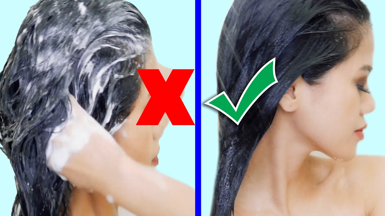 How To Wash Your Hair Correctly And Stop Hair Fall Youtube