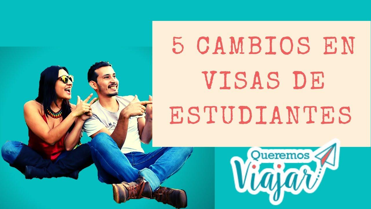 😨 5 CAMBIOS en las VISAS de ESTUDIANTES INTERNACIONALES en Australia / Queremos viajar/