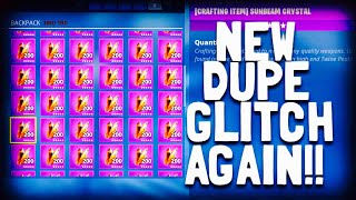 These Duplication Glitches Need To Stop in Fortnite Save The World