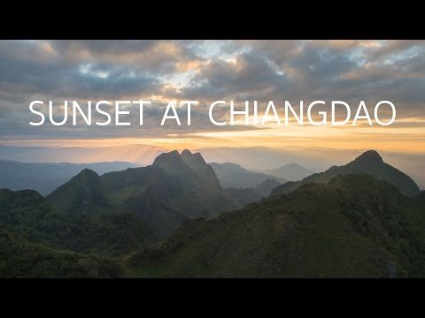 SUNSET AT CHIANGDAO!