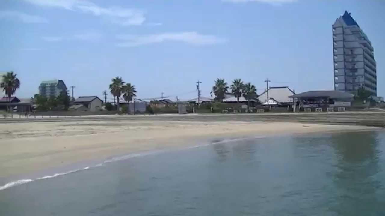 大野海水浴場 愛知県常滑市大野町 - YouTube