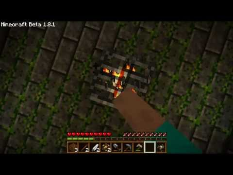 how to build herobrine spawner