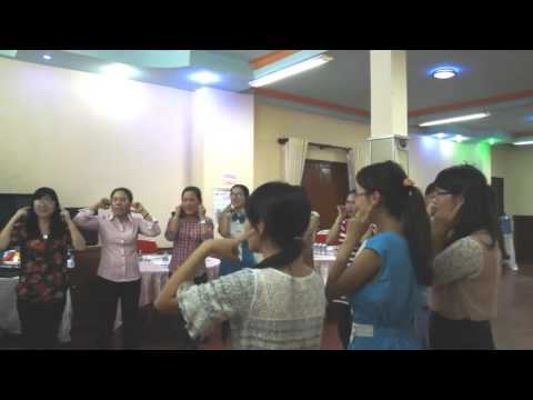 Shake Shake Shake song   Bien Hoa Teacher training