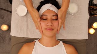 3 Hours of Calming, Deep Sleep, and Relaxation ASMR Whisper Facials