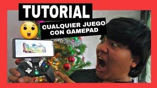 COMO JUGAR CUALQUIER JUEGO con GAMEPAD ANDROID | TUTORIAL 2018-2019 (FUNCIONA)