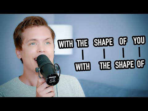 Singing one syllable out-of-sync (THIS IS TRIPPY!)