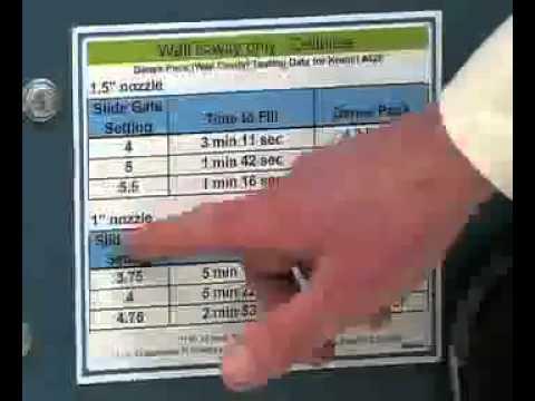 fiberglass blowing machine