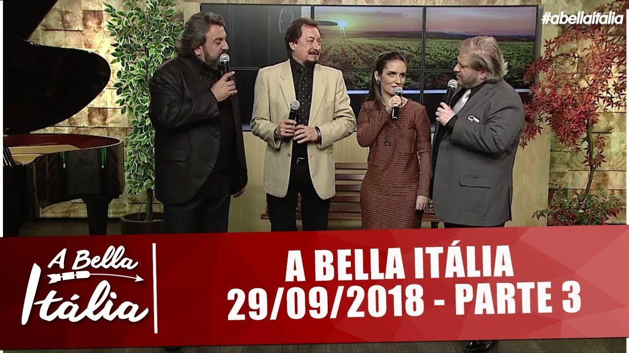 A Bella Itália Sergio De Rosa Cantor Italiano Youtube