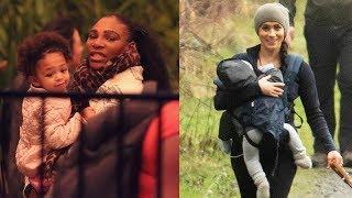 Serena Williams's Daughter⭐Serena & Meghan's Friendship⭐Serena williams Family 2020