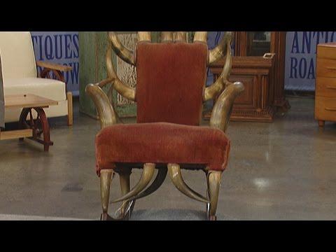Texas Longhorn Rocking Chair   Vintage St. Louis   Antiques Roadshow