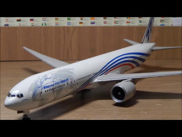 Сборка модели Boeing 777-300 ER - Звезда (ускоренное)