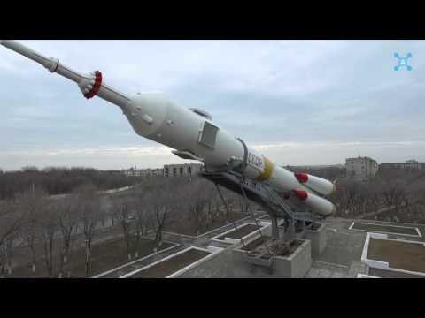 Baikonur in Kazakhstan Aerial Drone Video / Байконур  Аэросъемка Дрон Квадрокоптер съемка с воздуха