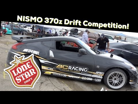 First TXSL competition in the LoneStarDrift 370z! Road to Texas...