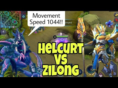 Helcurt Vs Zilong | 1000+ Movement Speed | Mobile Legends : Bang bang