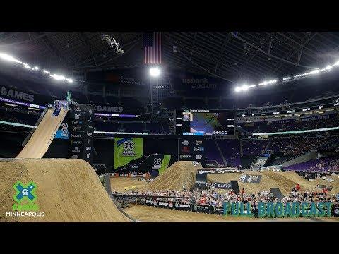 Moto X Quarterpipe High Air: FULL BROADCAST | X Games Minneapolis 2019