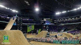 Moto X - Moto X Quarterpipe High Air: FULL BROADCAST | X Games Minneapolis 2019